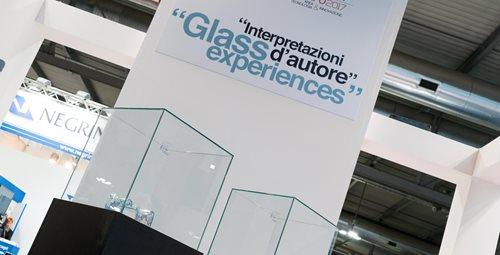 Interpretazioni d'autore, the exhibition dedicated to glass transformation at Vitrum 2017