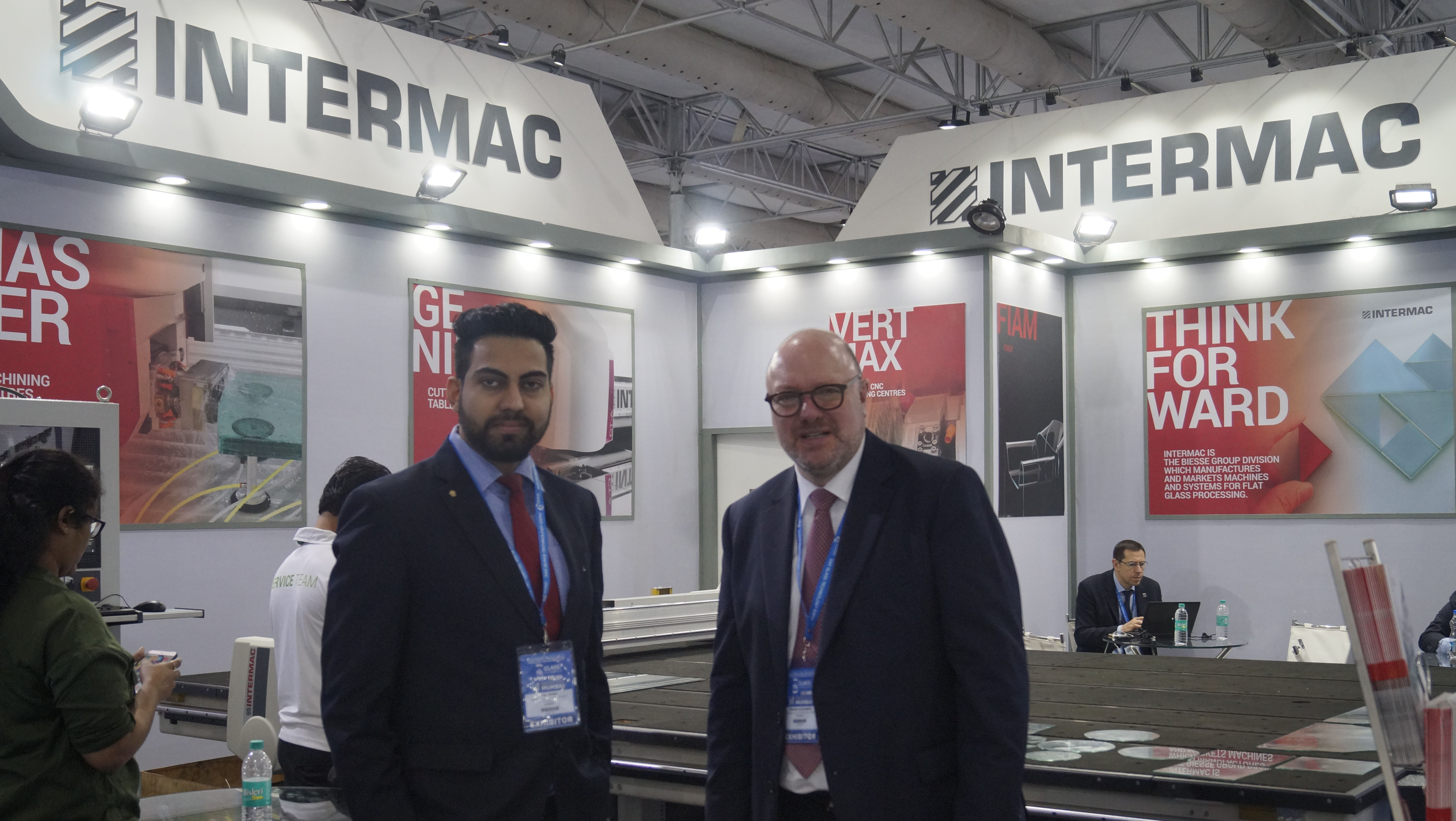 Intermac participated in the Mumbai glass show: Photo 1