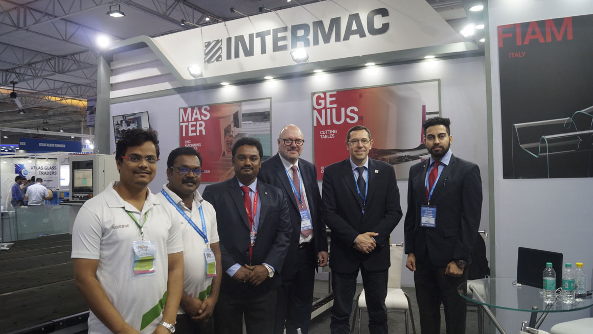 Intermac participated in the Mumbai glass show: Photo 2