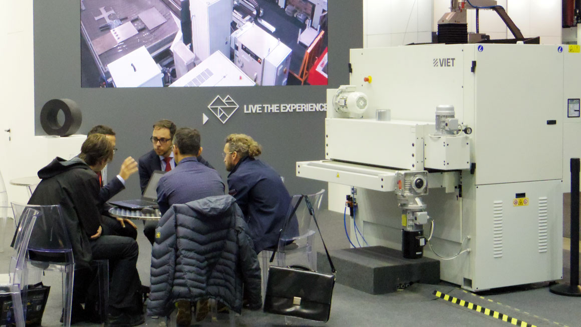 Intermac at Blechexpo 2017: confirmed enthusiasm for the versatility of the Primus 402: Photo 1