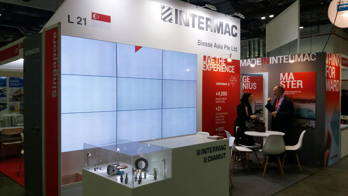 Intermac and Diamut present at Glasstech Asia 2017: Photo 1