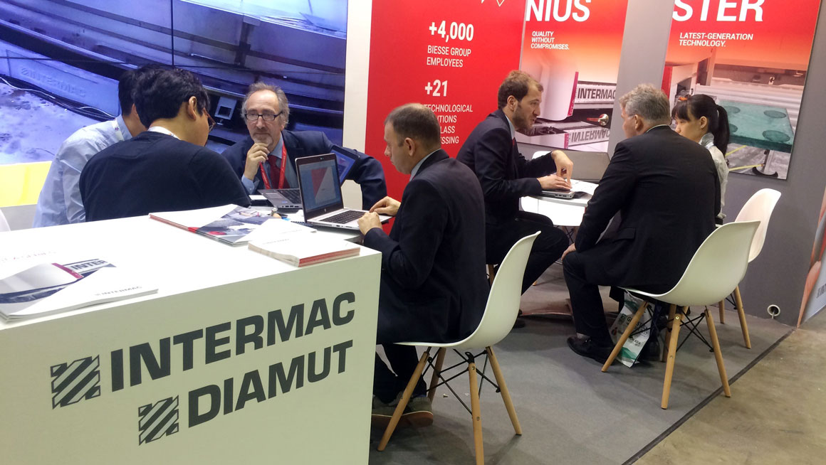 Intermac and Diamut present at Glasstech Asia 2017: Photo 2