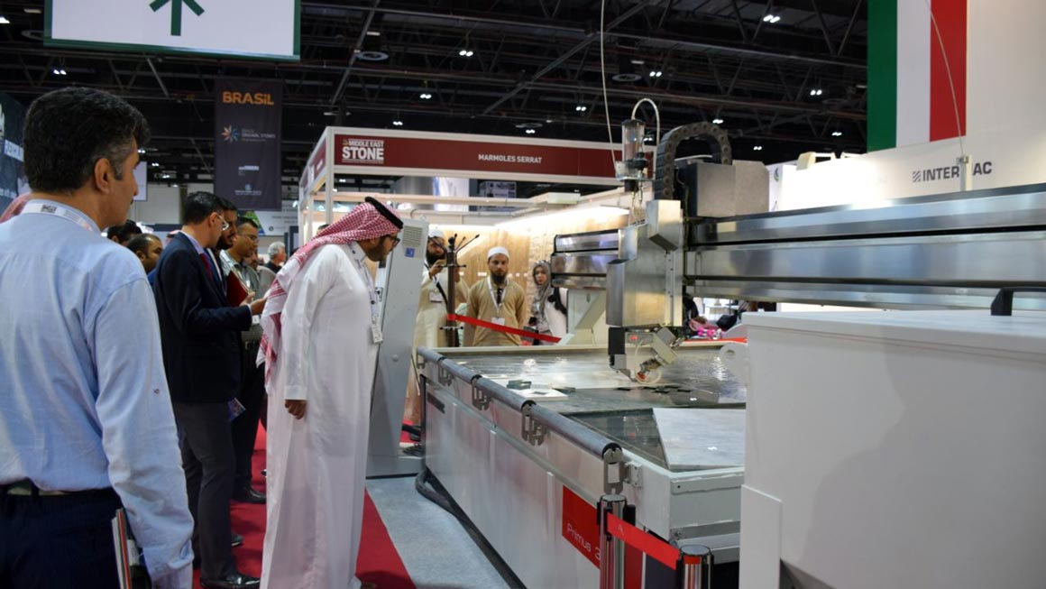 La tecnologia Waterjet in mostra a Middle East Stone: Foto 2