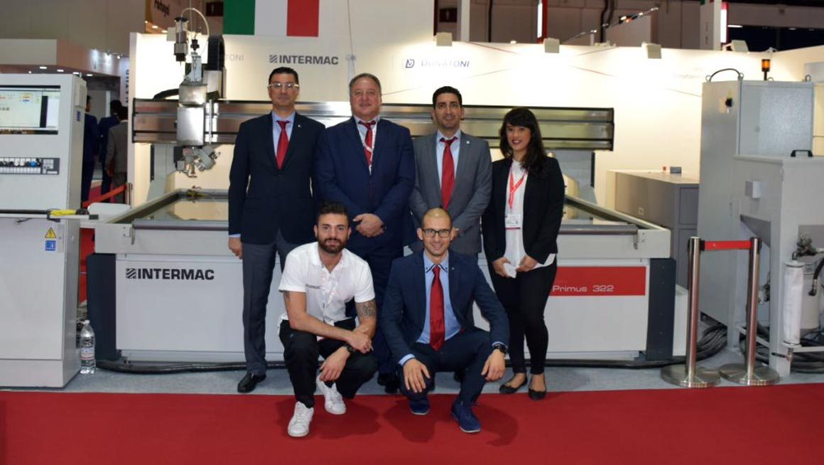 La tecnologia Waterjet in mostra a Middle East Stone: Foto 3