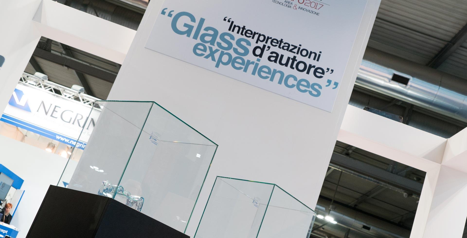 Interpretazioni d'autore, la mostra dedicata alle trasformazioni del vetro a Vitrum 2017