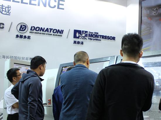 Intermac on display at Xiamen Stone Fair 2019