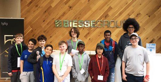 Biesse Group helps Hornets Nest Scouts BSA troop earn robotics merit badge