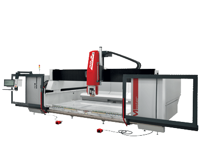 The range of machining centres dedicated to stone processing. Master Series