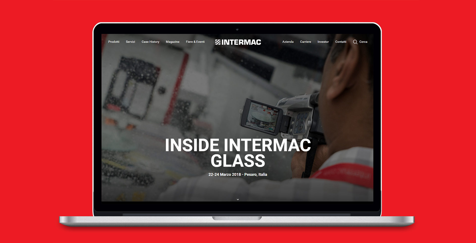 Corporate Surf the experience! Intermac launches its new website: Photo 1