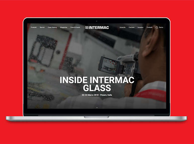 Surf the experience! Intermac launches its new website