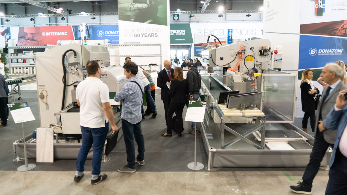 ALL IN ONE edition for Intermac, Donatoni Macchine, and Montresor, together at Marmomac 2018: Photo 1