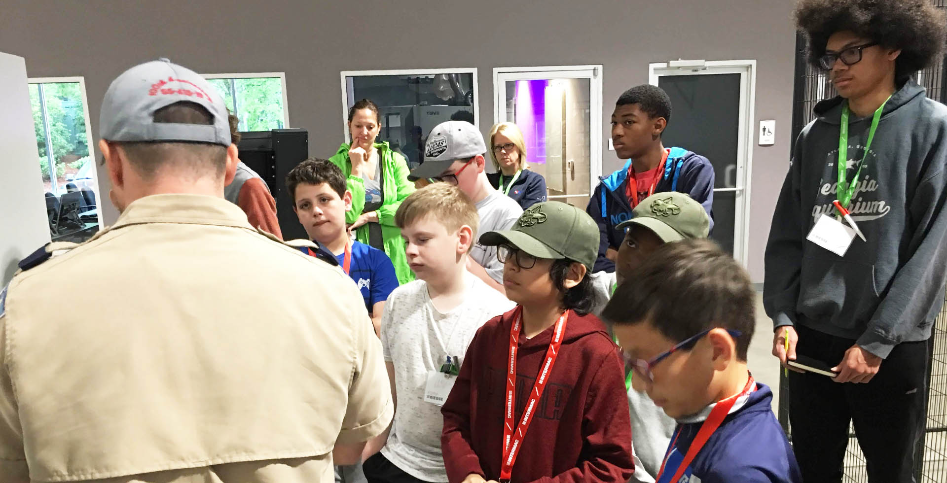 Biesse Group helps Hornets Nest Scouts BSA troop earn robotics merit badge: Photo 3