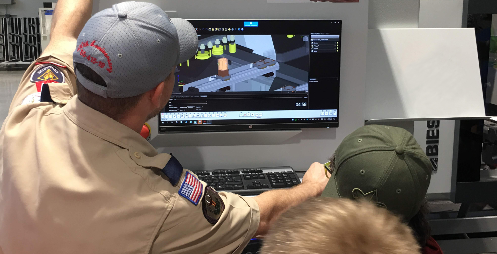 Biesse Group helps Hornets Nest Scouts BSA troop earn robotics merit badge: Photo 4