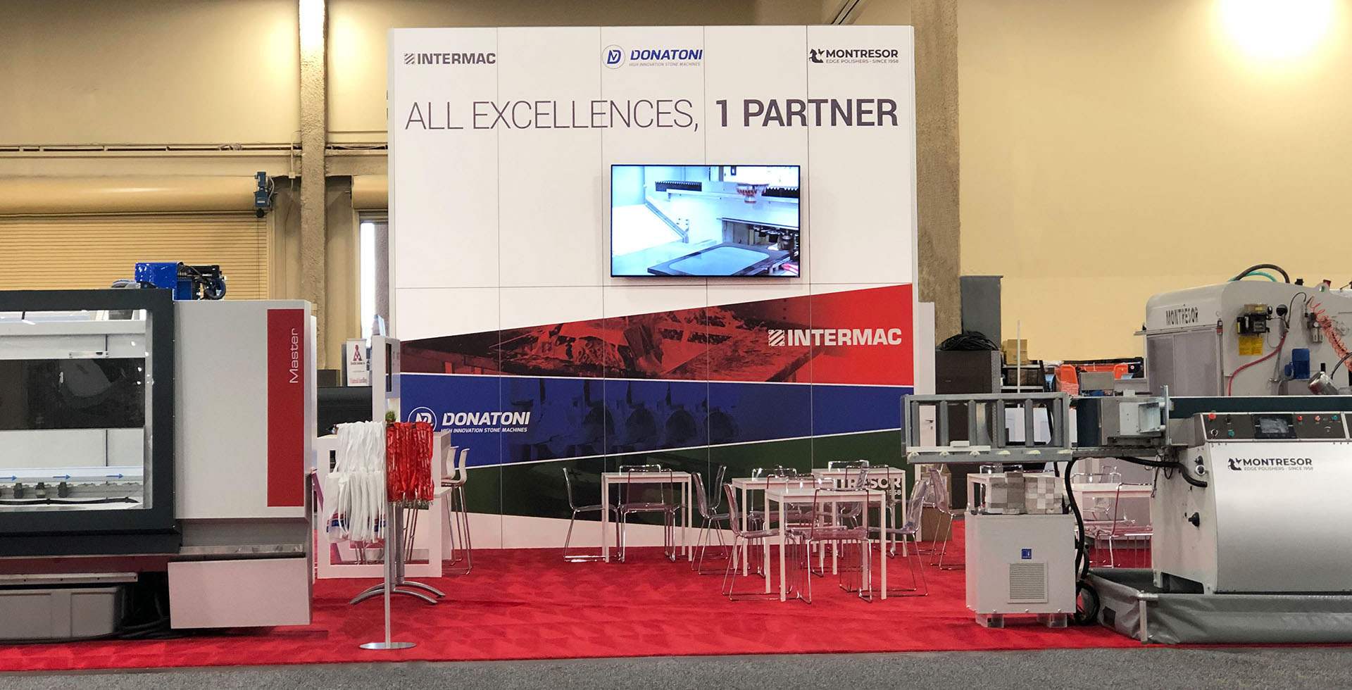 Intermac set to impress with Master One and more at  TISE StonExpo