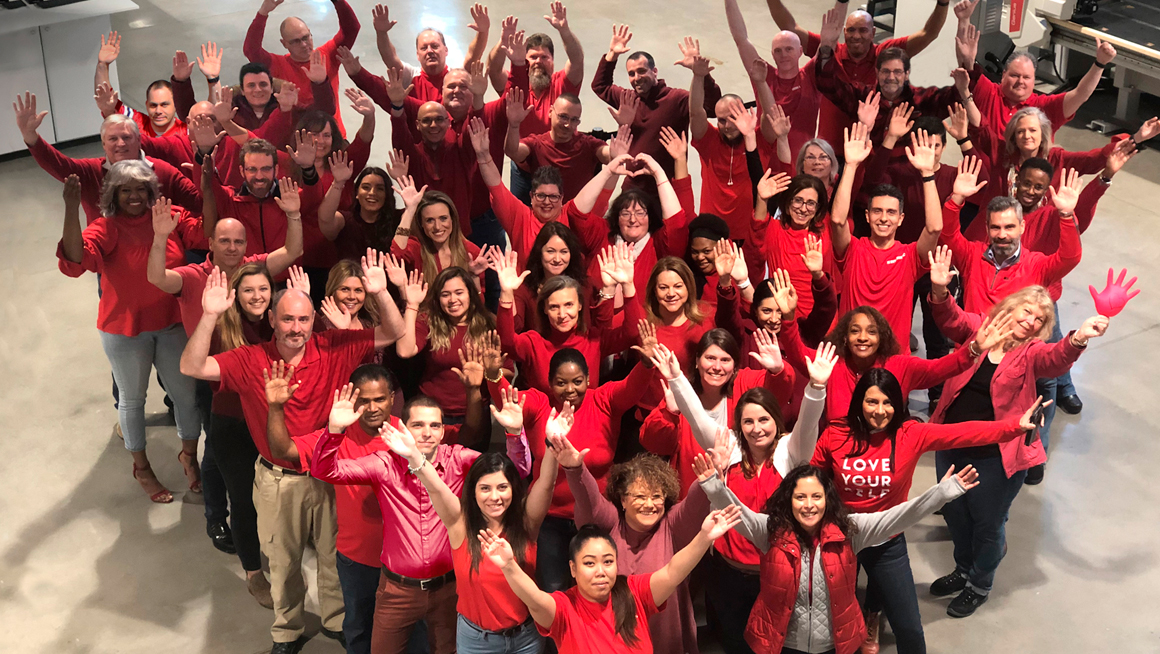 Corporate Intermac Inspired During American Heart Month: Photo 2