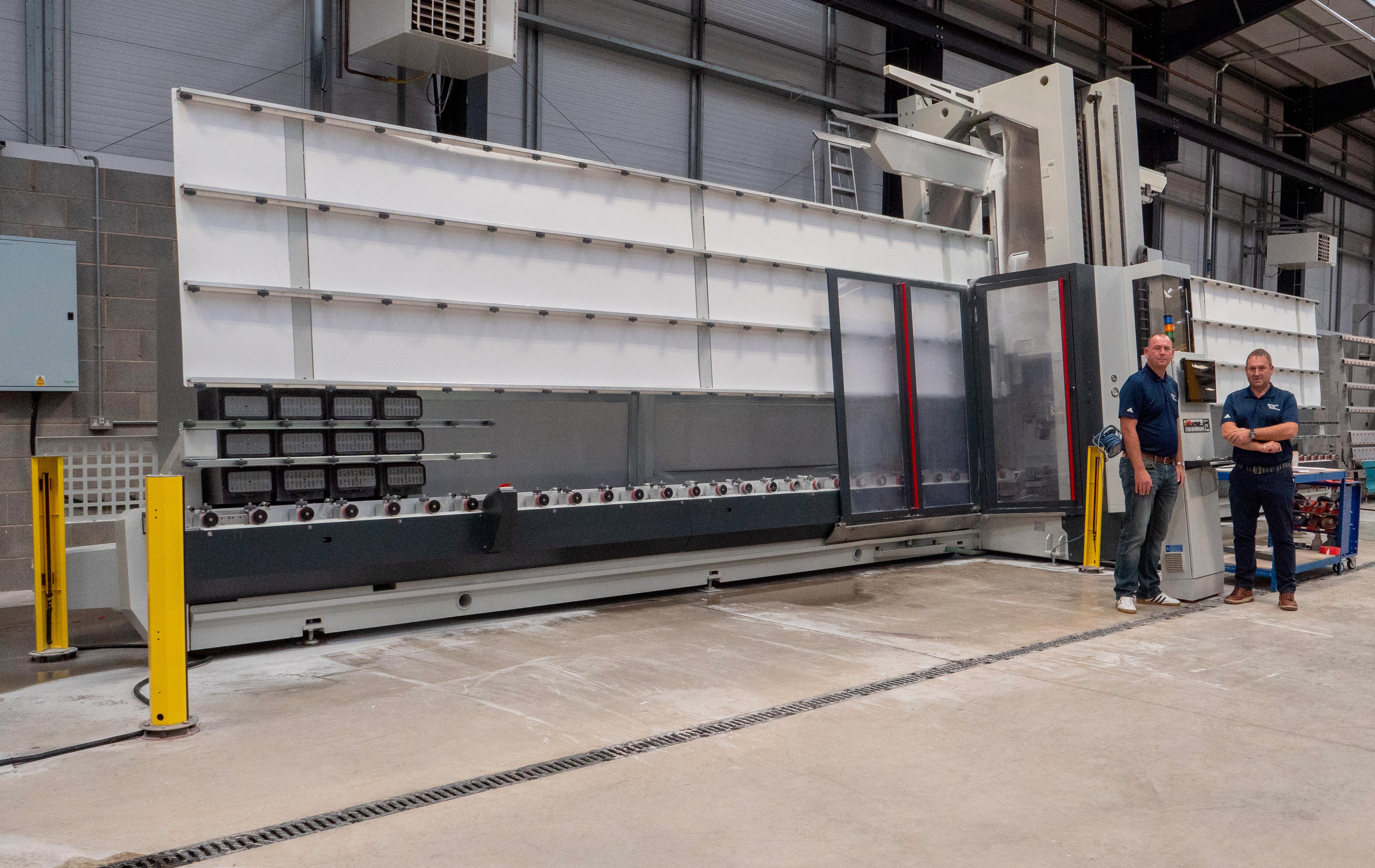 Specialist Glass Products (SGP) Increases productivity by 137% thanks to Intermac's high-tech glass processing machines: Photo 1