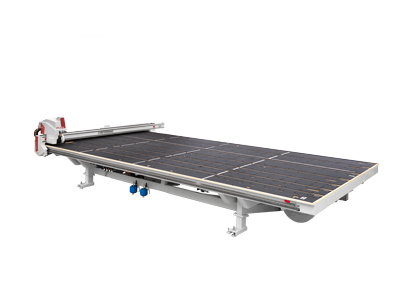 High-performance work cutting tables and cutting lines for float glass Genius CT-Plus