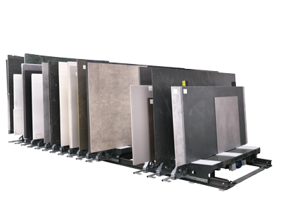 Storage and handling systems for sintered materials MOVETRO SERIES