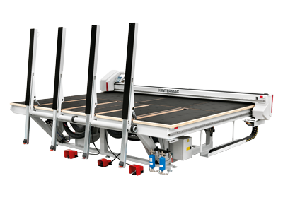 The entry-level cutting table for float glass that offers the same technological solutions as the high-level systems used in the cutting lines of the biggest industry operators Genius RS-A
