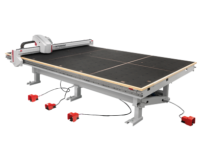 The cutting table range for float glass Genius CT-A series